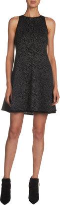 Saint Laurent Leopard Sleeveless Dress