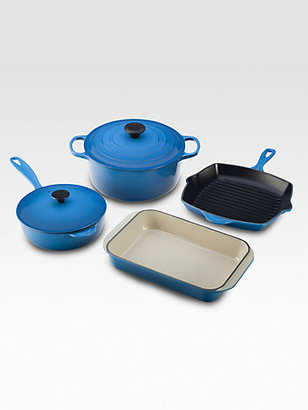 Polo Ralph Lauren 6-Piece Cast Iron Cooking Set