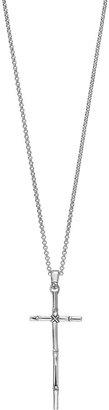 John Hardy Bamboo Cross Pendant Necklace