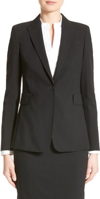 Akris Punto Long One-Button Jacket