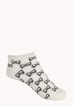Forever 21 Bow Ankle Socks