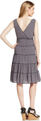 Style&Co. Petite Printed Tiered Dress