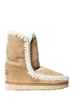 Mou Eskimo Shearling Short Boots