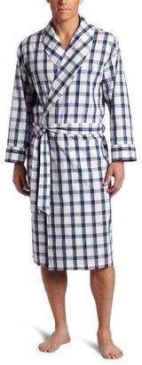 Nautica Men's Intercoastal Plaid Robe