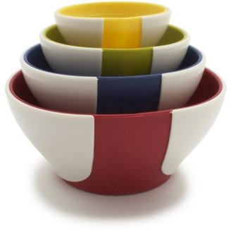 Chef'N Primary Colors Pinch-and-Pour Nesting Prep Bowls
