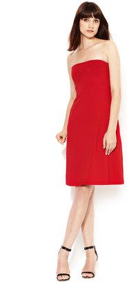 Susana Monaco Jersey Cowl Halter Dress