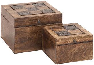 Inlay Boxes (Set of 2)