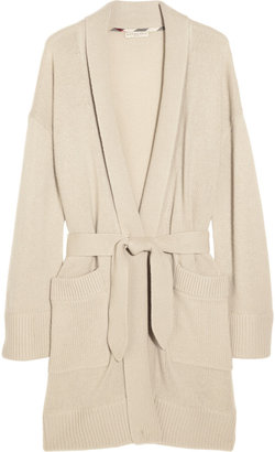Burberry Belted cashmere robe