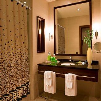 Bed Bath & Beyond Leopard Print 70-Inch x 72-Inch Shower Curtain
