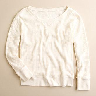 J.Crew Vintage thermal sweatshirt