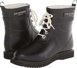 Ilse Jacobsen Rub 2 (Black) Women's Lace-up Boots