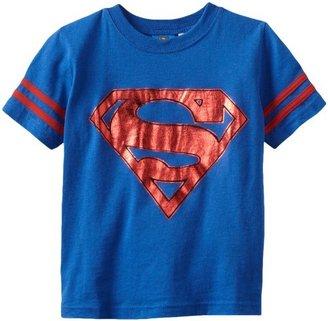 Warner Bros. Boys 2-7 Superman Shield Short Sleeve Tee