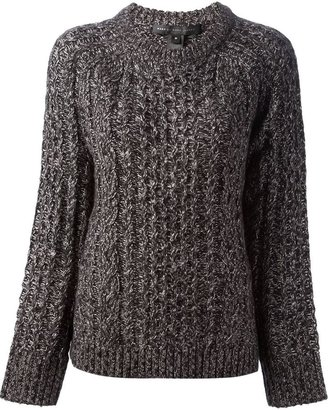 Marc by Marc Jacobs cable knit chunky sweater