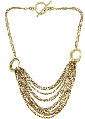 Citrine by the Stones Small Drape Necklace