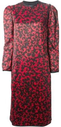 Saint Laurent Vintage 1978 printed Chinese dress