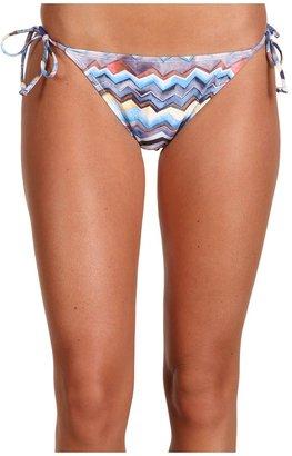 Quiksilver Zig Zag Classic String Bikini Bottom $48 thestylecure.com