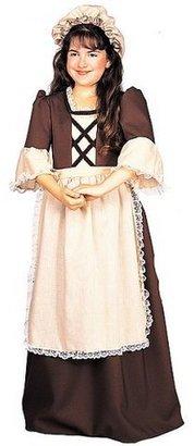 Girl's Colonial Girl Costume