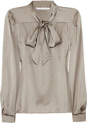 Diane von Furstenberg Trelodie stretch-silk blouse