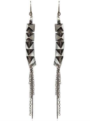 Emanuele Bicocchi Spike And Chain Earrings