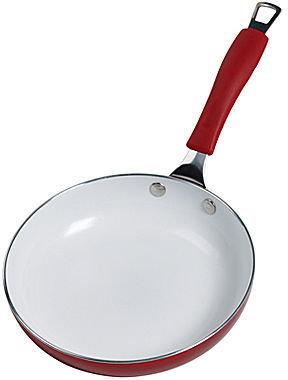 "JCPenney Bella 8"" Ceramic Open Fry Pan"