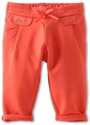 Chloe Kids - Pleated Fleece Pant w/ Front Pocket Detail (Infant) (Baie Rose) - Apparel