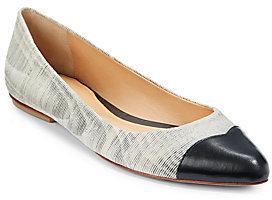Rebecca Minkoff Irma Leather Cap-Toe Flats