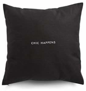 Kate Spade Chic Happens Square Pillow