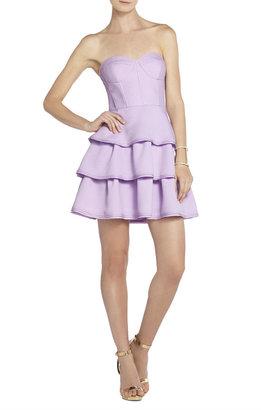 BCBGMAXAZRIA Jacklyn Sleeveless Tiered Ruffle-Skirt Dress