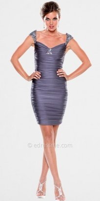 Atria Fitted Ruched Cocktail Dresses