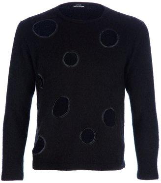 Comme des Garcons Vintage Eight Hole sweater