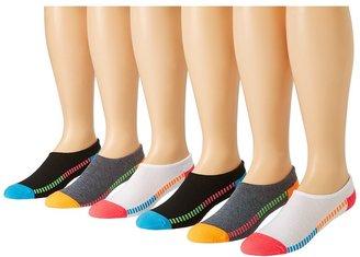 Converse Cut-for-Chucks 6-Pair Pack Women's No Show Socks Shoes