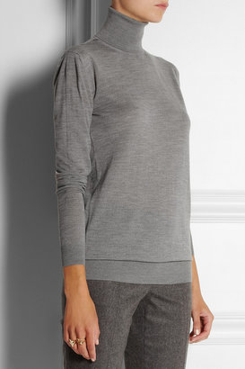 Stella McCartney Fine-knit wool turtleneck sweater