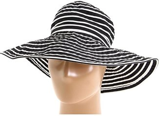 42cb58e622df San Diego Hat Company Ribbon Braid Hat Large Brim Stripe