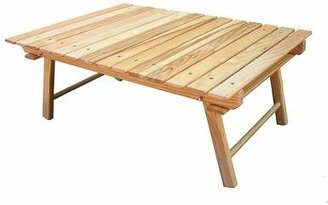 Blue Ridge Chair Works Folding Solid Wood Camping Table Chair Works