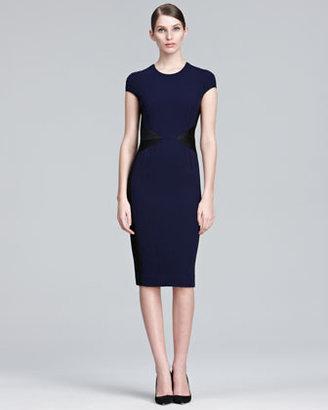 Narciso Rodriguez Cap-Sleeve Dress