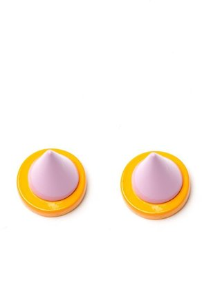 Givenchy spike earrings