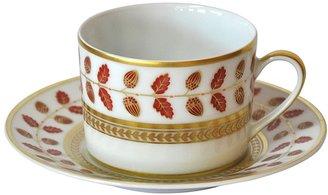 Bernardaud Constance Red Tea Cup