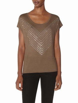The Limited Chevron Studded Tee