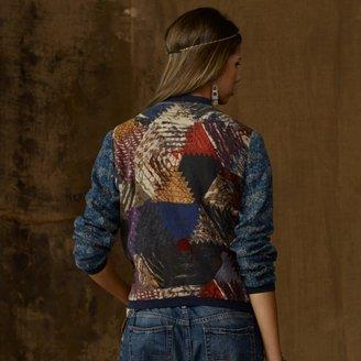 Denim & Supply Ralph Lauren Printed Bomber Jacket