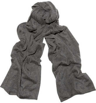 Chan Luu Fine-knit silk and cashmere-blend scarf