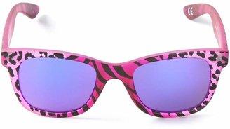 Italia Independent tiger print sunglasses
