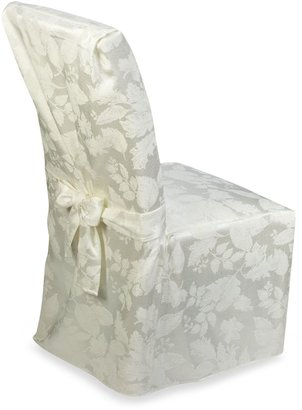 Bed Bath & Beyond Autumn Harvest Dining Room Chair Cover - Ivory