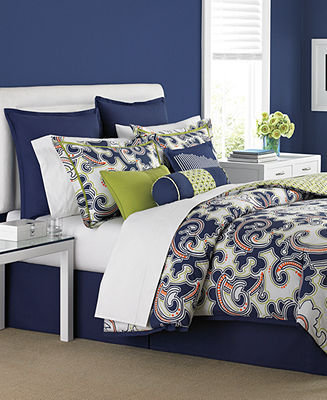Martha Stewart CLOSEOUT! Collection Bedding, Impulse 6 Piece Full Duvet Cover Set