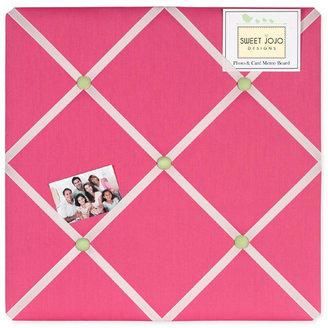JoJo Designs Sweet Flower Pink and Green Memo Board