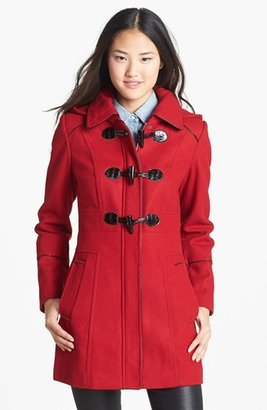 GUESS Hooded Toggle Coat (Online Only)