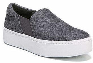 Vince Warren Felt Platform Slip-On Sneakers