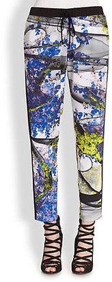 Clover Canyon Space Garden Printed Track Pants