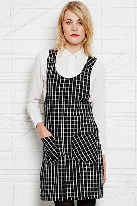 Vintage Renewal Tartan Pinafore Dress