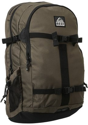 Reef Diamond Tail Backpack (Olive) - Bags and Luggage
