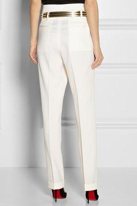Balmain Wool tapered pants